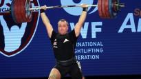 Plēsniekam Anaheimā pietrūkst divu kilogramu līdz pasaules čempionāta zeltam