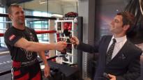 Vova izpildās Brieža treniņā un tiek pie ekskluzīvas intervijas