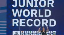 Kohai junioru pasaules rekords un pieaugušo PČ pjedestāls