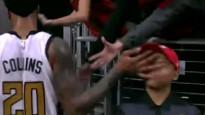 """NBA jocīgākie momenti: """"iebrauc"""" sejā bērnam"""