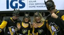 NHL jocīgākajos momentos arī vairāki Betmeni