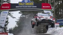 Mīke Zviedrijas WRC rallijā aizlec 41 metru