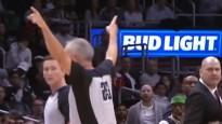 NBA jocīgākajos momentos arī treneru izraidīšana