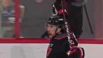 "NHL vārtu topā uzvar ""Hurricanes"" aizsargs"