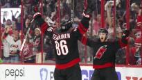 """NHL nedēļas atvairījumos triumfē """"Hurricanes"""" vārtsargs"""