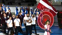 Latvijas delegācija piedalās otro Eiropas spēļu atklāšanas ceremonijā