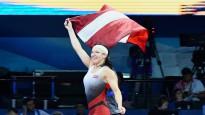 Grigorjeva triumfē Eiropas spēlēs un Latvijai sarūpē pirmo zeltu