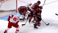 KHL pirmās nedēļas atvairījumu topā Gudļevskis aptur Karsumu