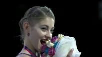 Jaunā pasaules rekordiste nogaršo ziedu pušķi