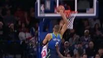 Porziņģis dodas caurgājienā un danko, izpelnoties otro vietu NBA topā