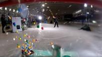 NHL hokejisti iznīcina ledus klučus, sabojā televizorus un izšķaida citas lietas