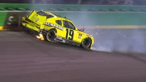 Video: Avārijām bagāta nedēļas nogale Amerikas autosportā