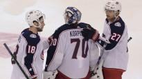 NHL nedēļas atvairījumos triumfē Korpisalo ar vairākām epizodēm