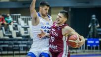 Latvijas vīriešu izlase izcīna pirmo uzvaru EČ-2022 kvalifikācijā