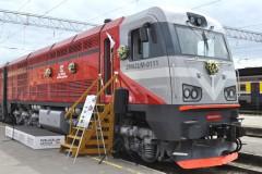 Foto: Pirmo reizi Latvijā notiek Dzelzceļa transporta līdzekļu parāde