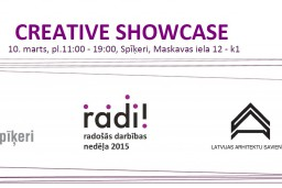 "Spīķeros notiks radošo industriju forums ""CreativeShowcase"""