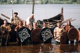 """Daugavpilī notiks  pirmais vikingiem  veltītais vēsturisko rekonstrukciju klubu festivāls """"Visvalža diena"""""""