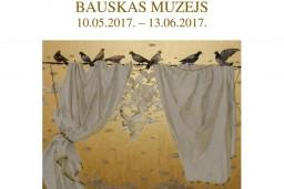 Bauskas muzejā T.Paļčukas - Rikānes izstādes atklāšana 10.maijā