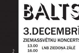 "LNB izskanēs Adventes laika koncerti ""Balts"""
