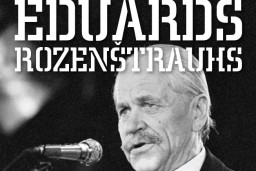 Izdota Eduarda Rozenštrauha populārāko dziesmu nošu grāmata