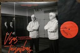 """Imanta Ziedoņa muzejs aicina baudīt albuma """"Visas taisnības"""" vinila šarmu"""