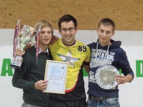 Pasaules ranga līderis Caics uzvar sezonas pirmajā turnīrā Latvijā