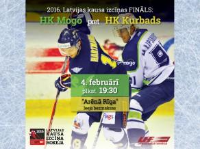 4. februārī norisināsies Latvijas kausa izcīņas fināls hokejā