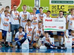 VEF LJBL finālturnīri: Persil U13 puišu grupā uzvar rēzeknieši