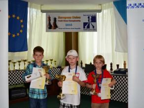 Markusam Bērziņam trešā vieta Eiropas Savienības čempionātā šahā jauniešiem
