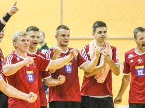 """""""Tenax"""" BHL ceturtdaļfināla duelis pret spēcīgo """"SKA Minsk"""""""