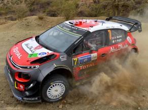 Mīke pakutina nervus, taču izcīna uzvaru Meksikas WRC rallijā