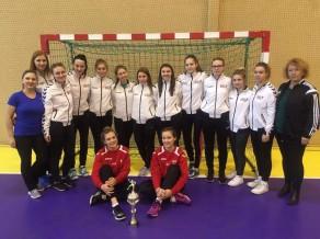 Latvijas U-19 handbolistes gatavojas Eiropas čempionāta kvalifikācijai