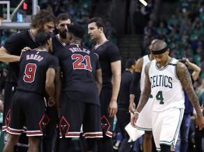 """Austrumu līdere Bostona vēlreiz zaudē mājās, """"Raptors"""" un """"Clippers"""" uzvaras"""