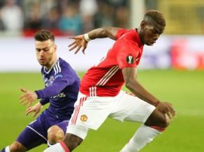 """Cīņa par EL pusfinālu: """"United"""" pēc neizšķirta Beļģijā uzņems """"Anderlecht"""""""