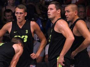 """Rīga Ghetto Basket"" zaudē Pasaules 3x3 tūres Debrecenas posma pusfinālā"