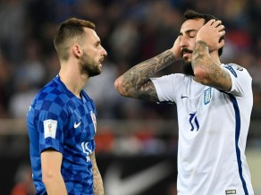 Horvāti trāpa pa stabu, nosargā pārsvaru un brauks uz Pasaules kausu
