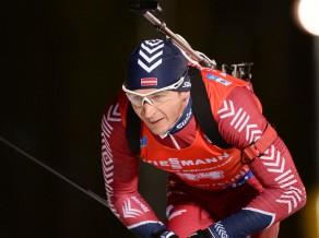 Latvijas biatlonistiem starts sprintā Hohfilcenē