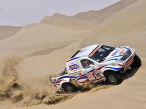 Vienīgais Latvijas pārstāvis izstājas no Dakaras rallija