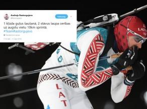 Olimpiskās čalas: Rastorgujeva kļūdas, Lietuvas prieki un ASV joki par biatlonu