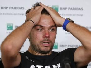 Vavrinka atkal Parīzē zaudē Garsijam-Lopesam, rangā nokritīs uz trešo simtu