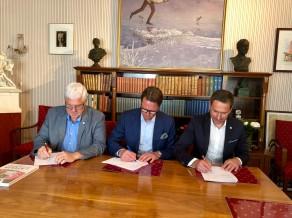 Paraksta sadarbības memorandu par kopīgu Zviedrijas un Latvijas kandidēšanu OS rīkošanai