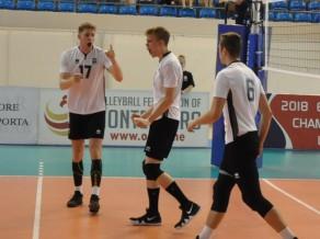 Latvijas U-20 izlases volejbolistiem pļaujas laiks Polijā