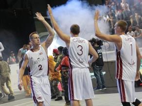 Latvijas 3x3 izlasei divas uzvaras un solis no iekļūšanas Eiropas kausā