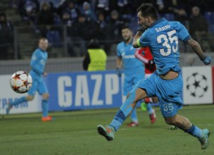 """C grupa: """"Zenit"""" ar """"Monaco"""" uzvar un sadalīs vietu 1/8 finālā"""