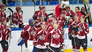 """Video: Rīgas """"Dinamo"""" pārbaudes mačā pārspēj Čerepovecas """"Severstal"""""""