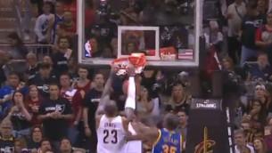 Video: NBA danku topā uzvar Džeimss