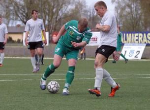 Valmieras FK/BSS 1. līgas sezonu atklāj ar zaudējumu pret Tukuma FK 2000