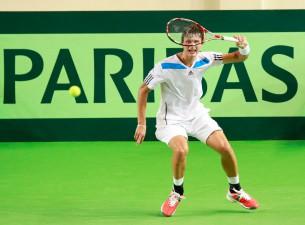 Juška un Podžus Valmierā piekāpjas Austrijas tenisistiem