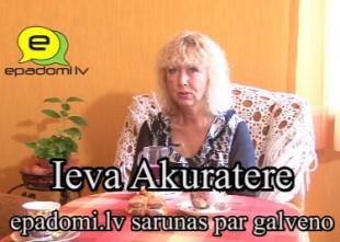 """Video: """"Izmantojiet dzīvi, lai ieskatītos viens otram acīs..."""": intervija ar dziedātāju Ievu Akurateri"""