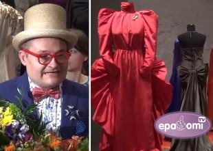 Video: Simtgades krāšņākie tērpi ieradušies Rīgā